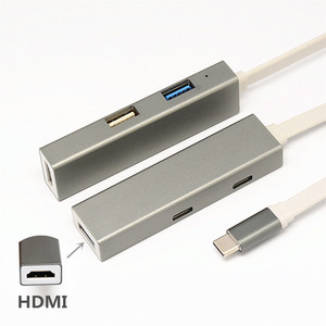 5-in-1 Docking Station Type C to 4K HDMI PD