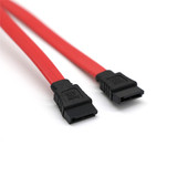 38cm Serial ATA SATA 2 Cable Lead Hard Drive Data  Red
